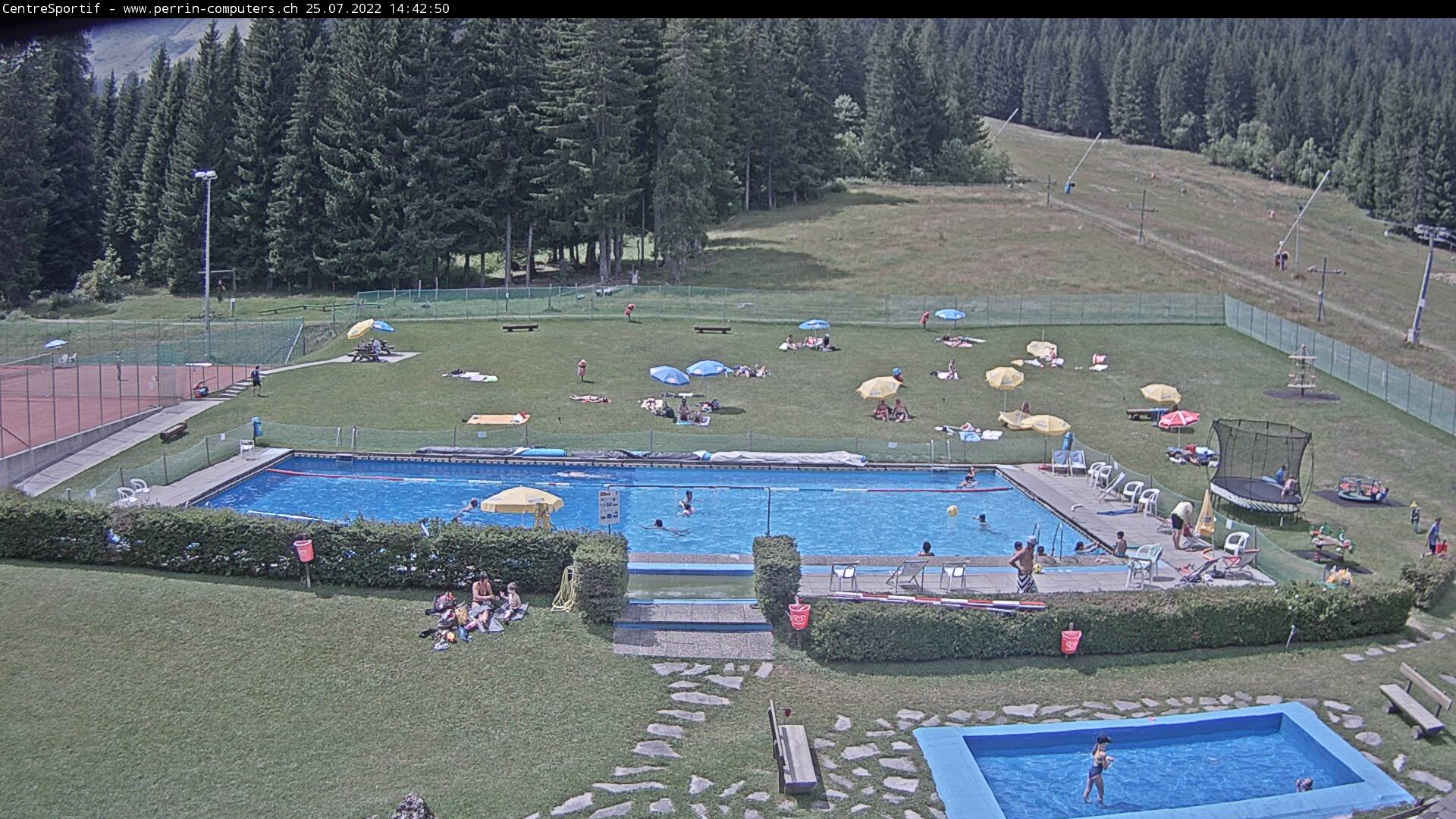 Webcam Morgins, centre sportif